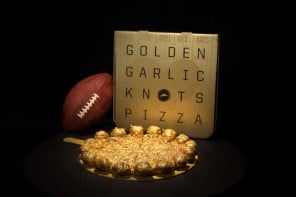 Pizza Hut Big Game Golden Knots Pizza