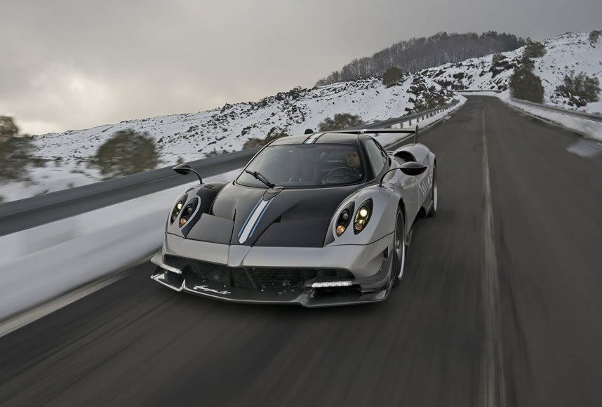 The Pagani Huayra Bc Hypercar Is A Light Weight And Stylish Speed