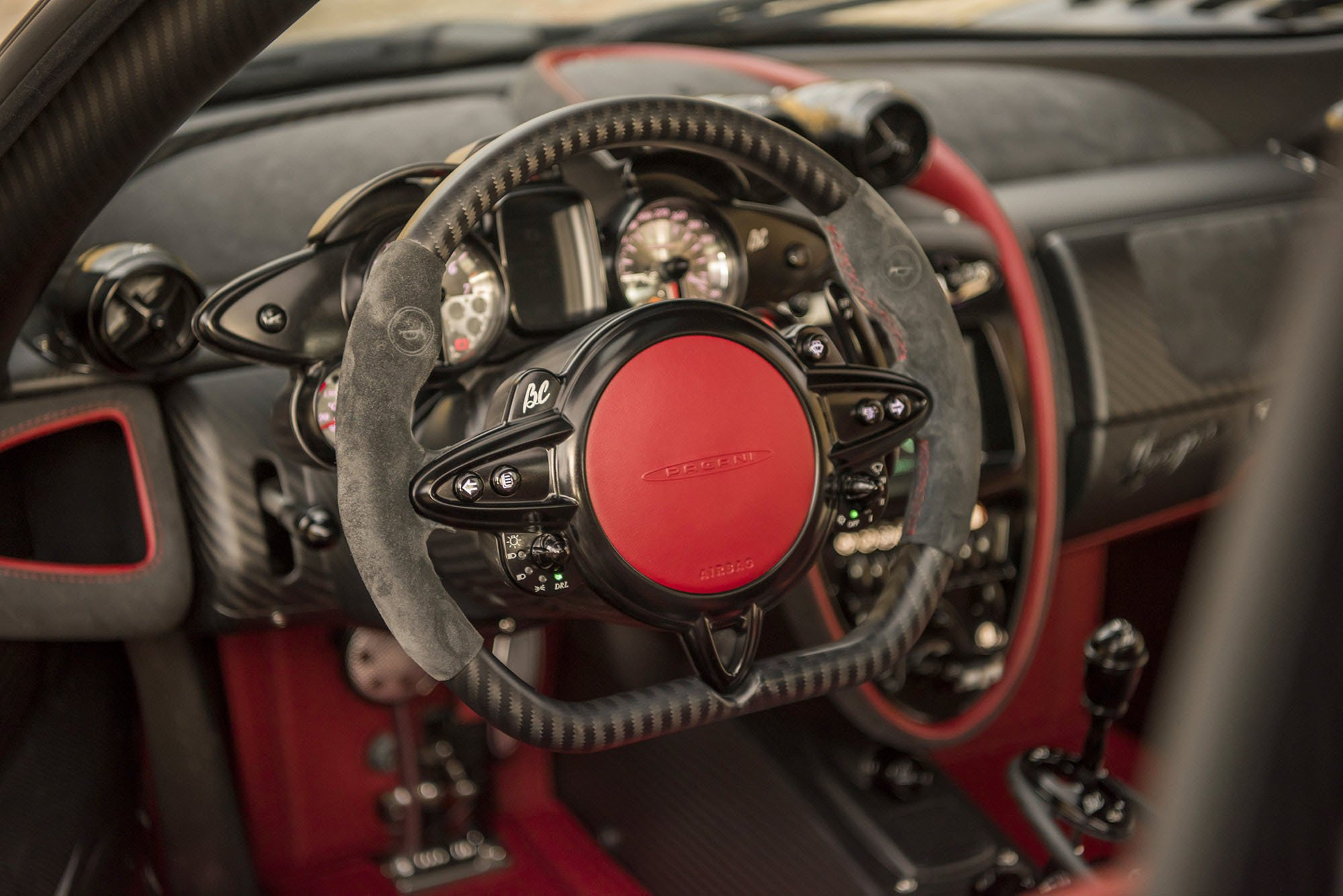 The Pagani Huayra BC hypercar is a light-weight and stylish sd ...