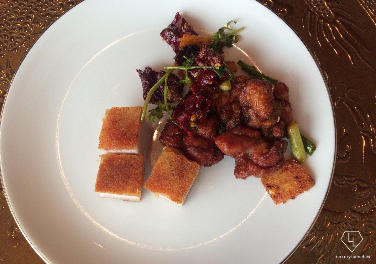Roasted crispy pork belly