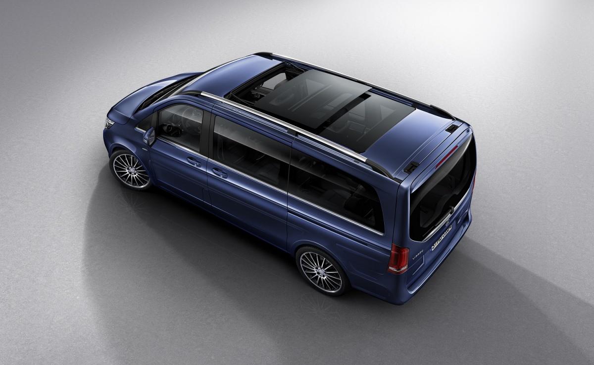 Benz blau klasse mercedes v V