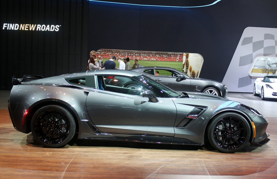 The 2017 Corvette Grand Sports borrows from the Z06, Stingray -