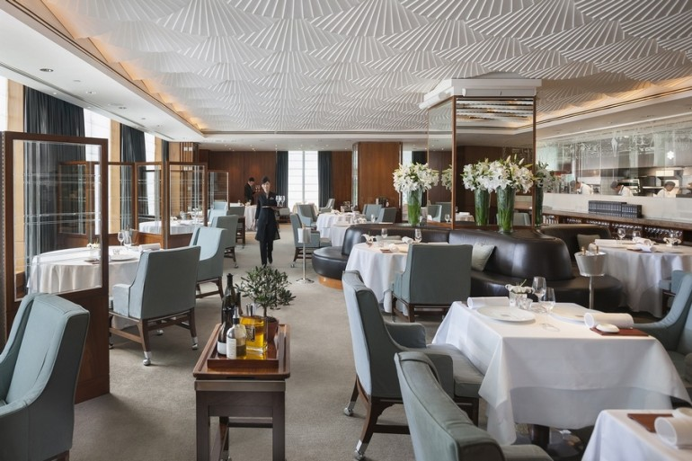 The one Michelin-starred Mandarin Grill + Bar restaurant
