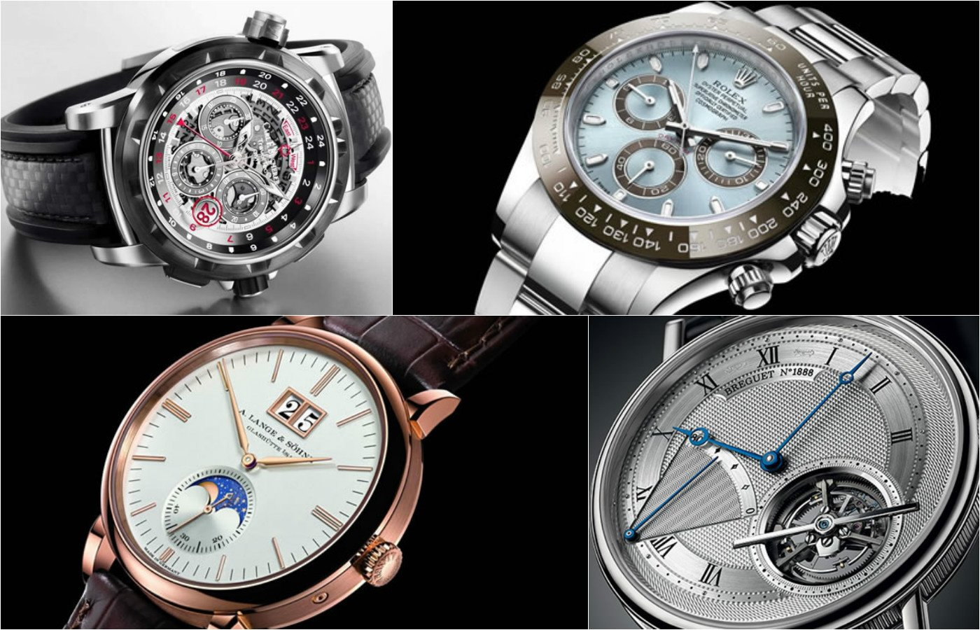 6 of the most popular Watch complications