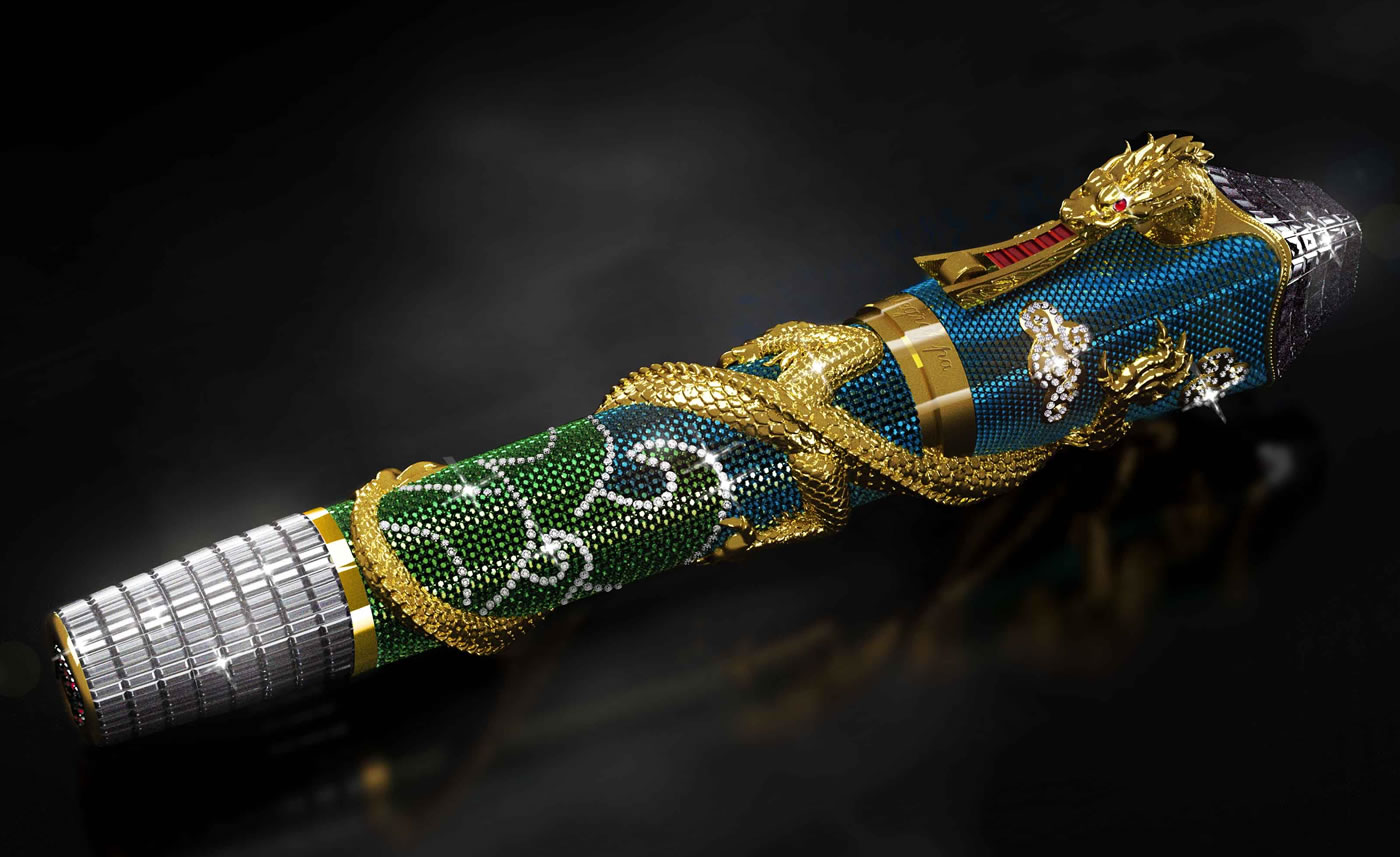 Montegrappa S Ultimate Centennial Dragon A Million Dollar