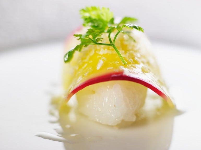 Fin sushi de betterave