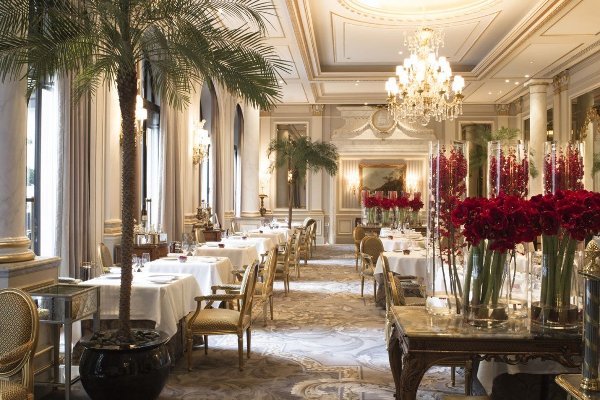 Le cinq paris review for Paris restaurant