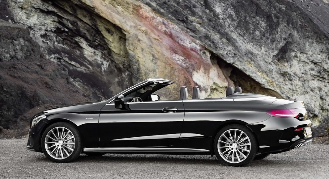 2017 mercedes benz c class cabriolet convertible dazzles at geneva. Black Bedroom Furniture Sets. Home Design Ideas