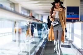 Paris Airport photography exhibition