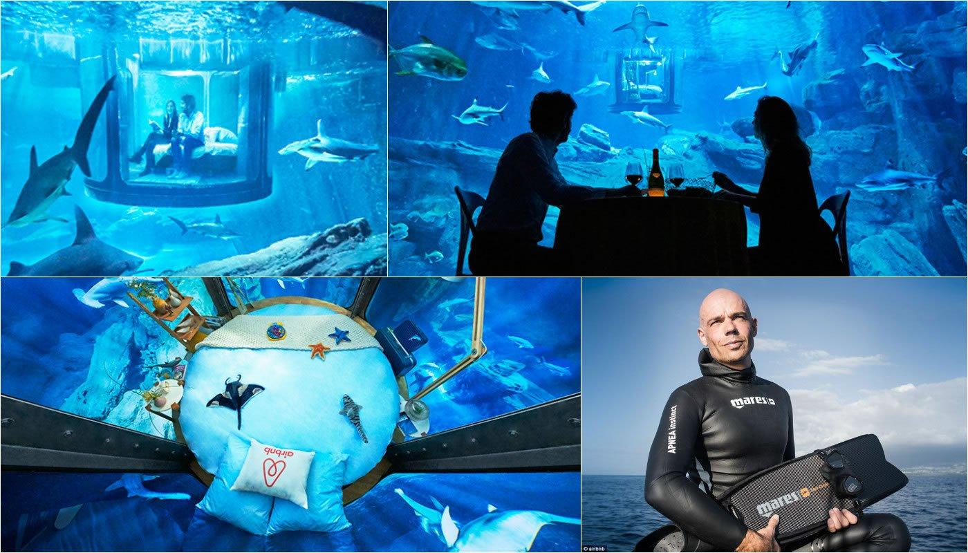 Bedroom Underwater