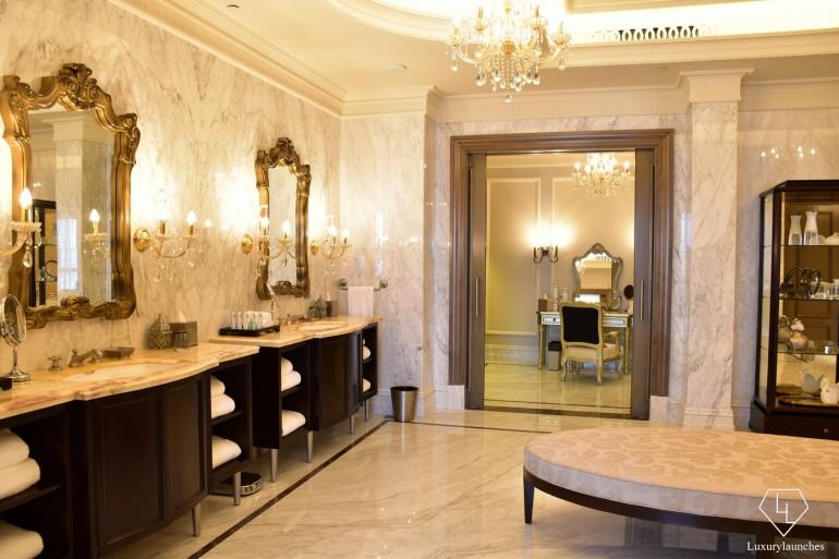 St Regis Dubai Imeprial Suite Main Bathroom