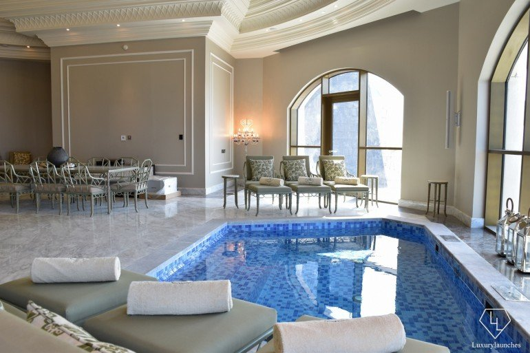 St Regis Dubai Imperial Suite Dome and Plunge Pool