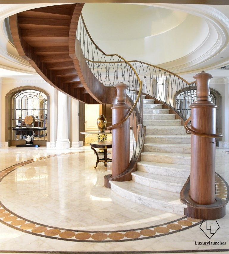 St Regis Dubai Imperial Suite Interior Staircase