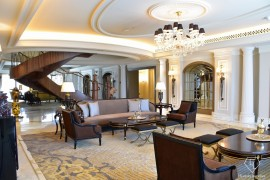 St Regis Dubai Imperial Suite Main Living Room