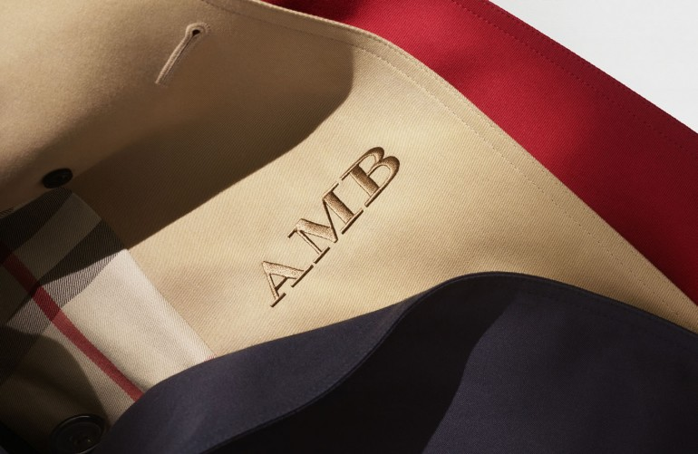 The Monogrammed Burberry Heritage Trench Coat_006