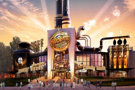 Universal Studios florida chocolate factory