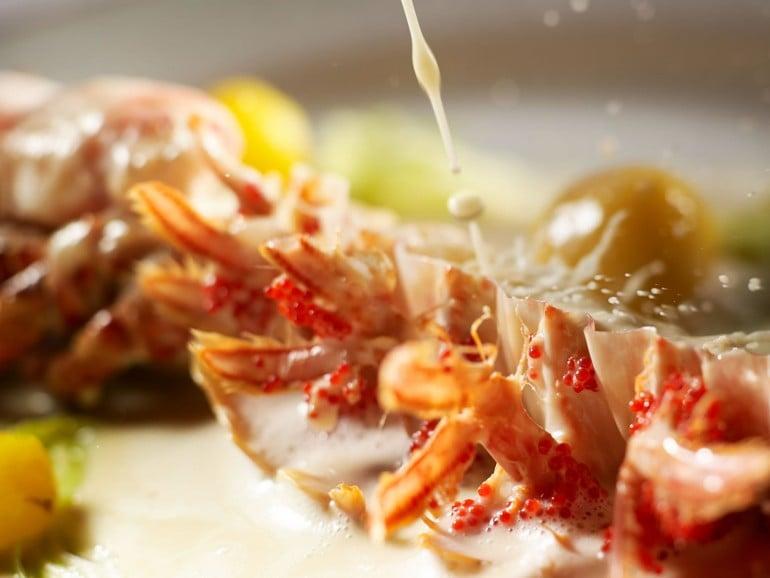 aiguillette de homard de chausey au vin jaune