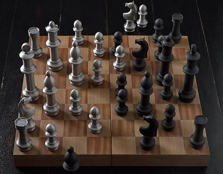 This Giant Vintage Chess Set Is A Befitting Gift For A King