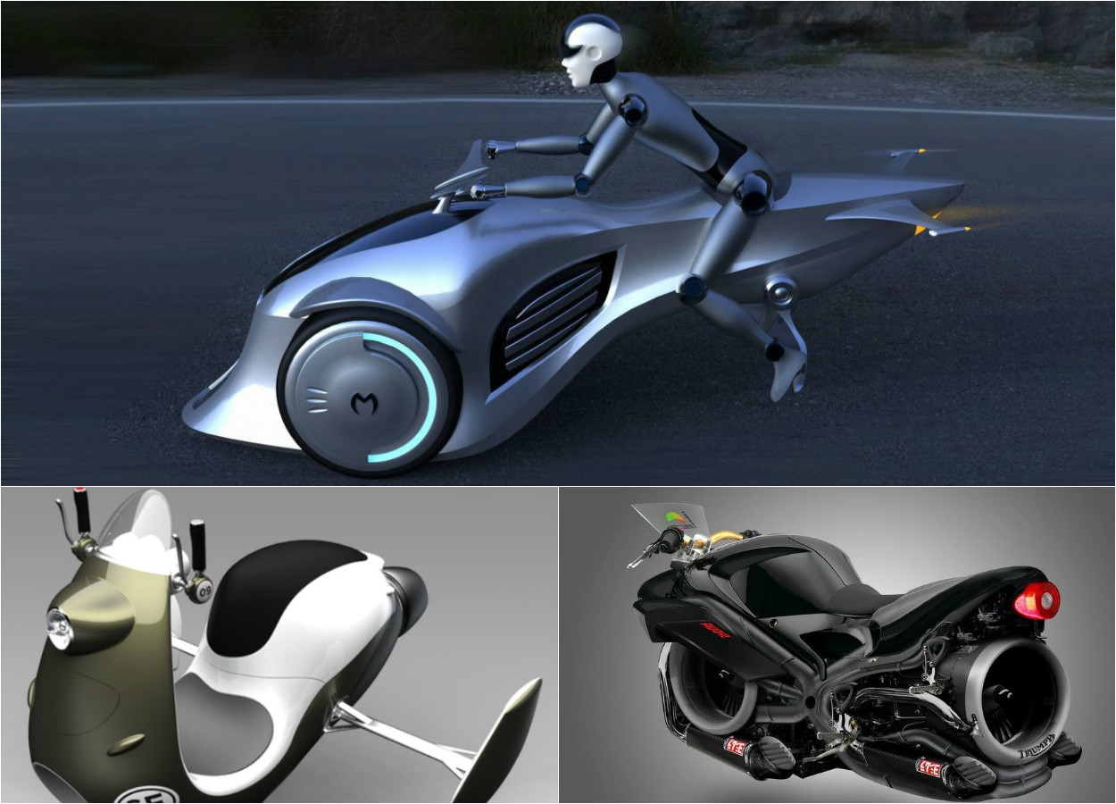 The Future Of Transport 3 Coolest Flying Motorcycle