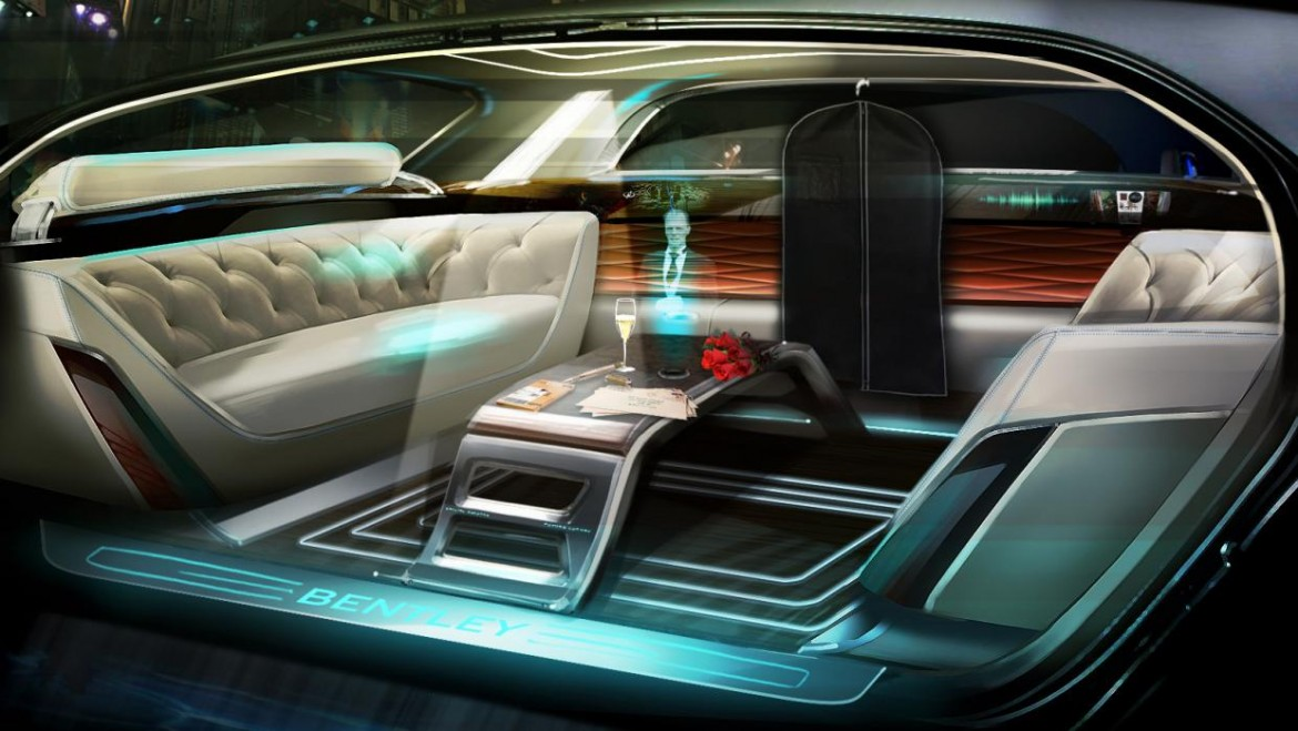 Bentley Shows Us How Self Driving Limos Could Look 20