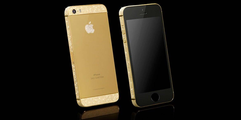 złoty iphone 4s