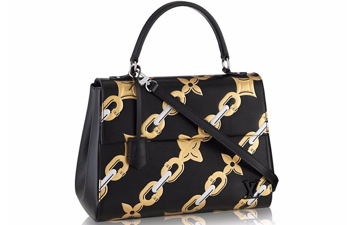 Vuitton louis embossed arm candy video