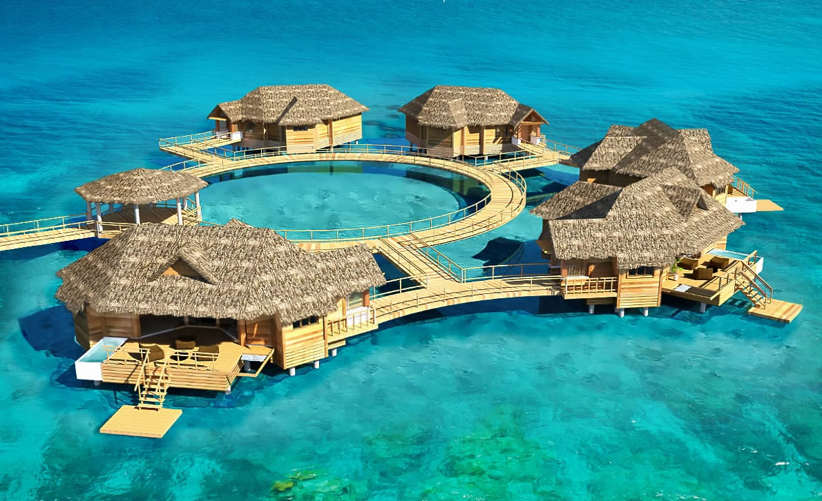 Caribbean S First Over Water Suites Are Simply Gorgeous
