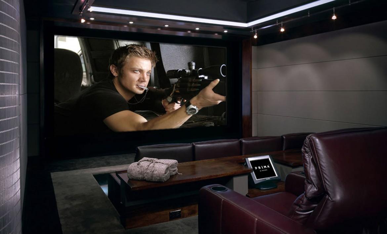 Watch the latest blockbusters in the comfort of your home - Sala de cine en casa ...