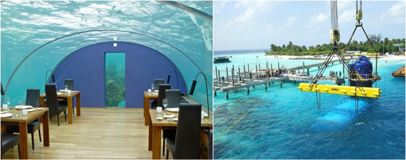 Select Luxury Cars >> Check out the worlds largest underwater restaurant that's ...