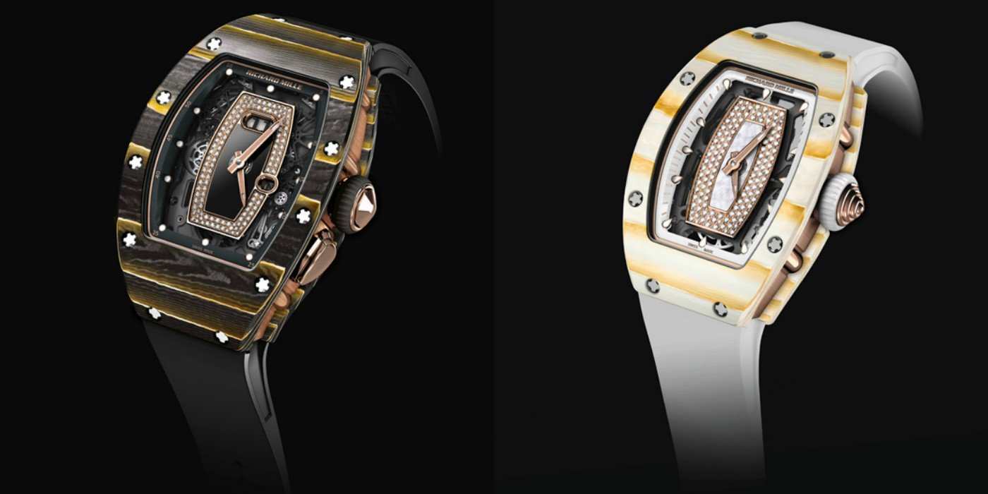 Watchmaker Turns Alchemist Richard Mille Unveils Two New Materials By Combining Gold With Carbon And Quartz Luxurylaunches