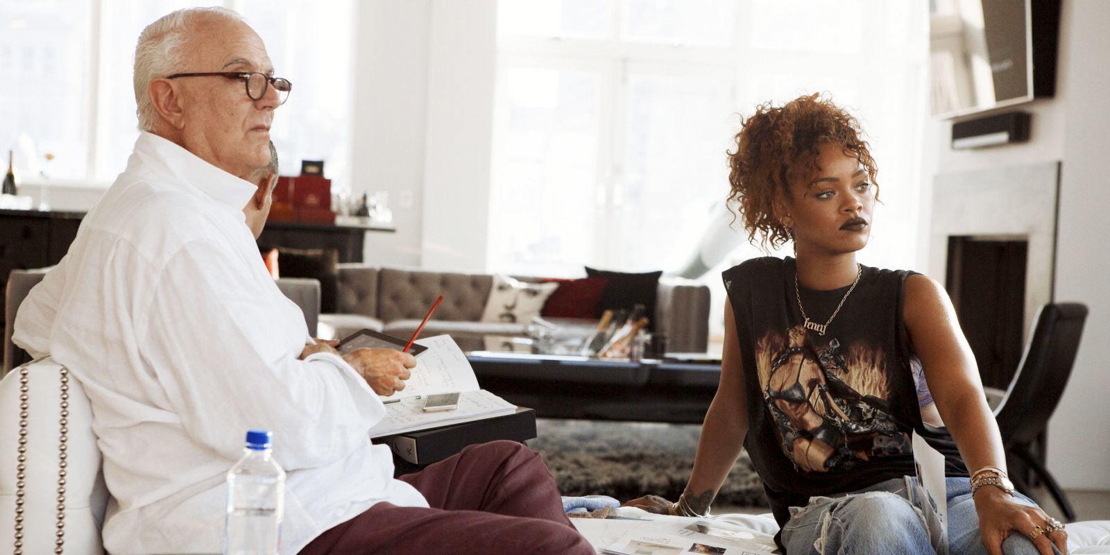 First Look: Rihanna's Denim Desserts collection for Manolo Blahnik : Luxurylaunches