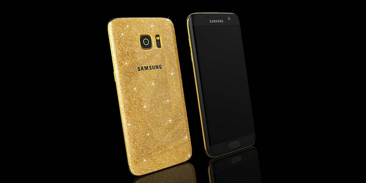 newest 59a98 73a93 Goldgenie outs a gold Samsung Galaxy Galaxy S7 for S7 Edge [Video] -