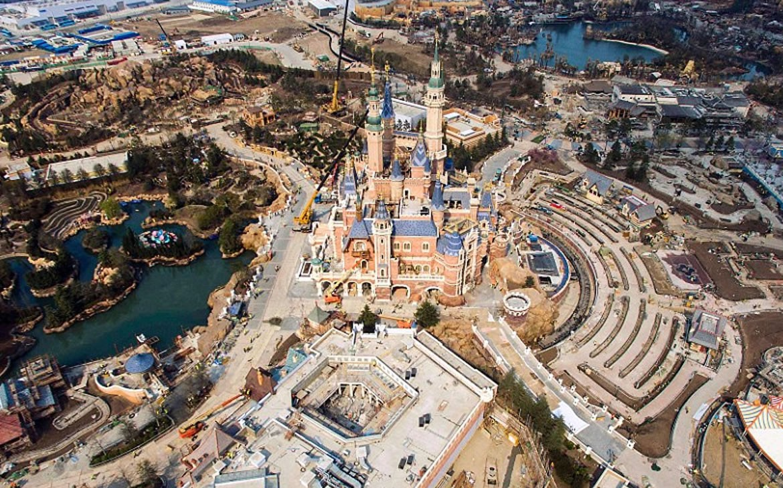 Arial Views Of The Upcoming Shanghai Disneyland Its Just
