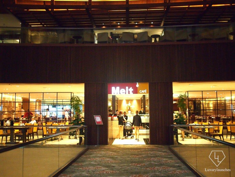 Melt Café for breakfast buffet