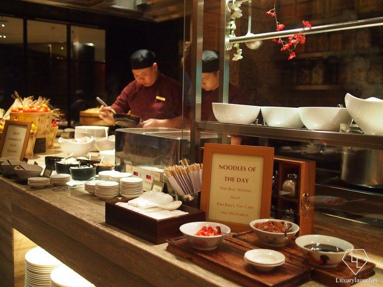 Asian noodle station