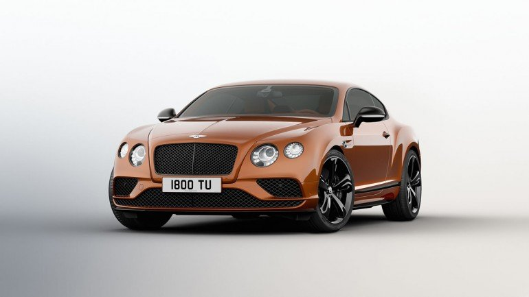 Bentley Continental GT Speed Black Edition (1)