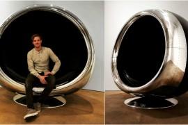 Boeing 737 chair