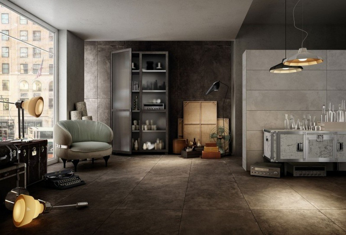 Diesel Living And Iris Ceramica Gives Birth To Floor And