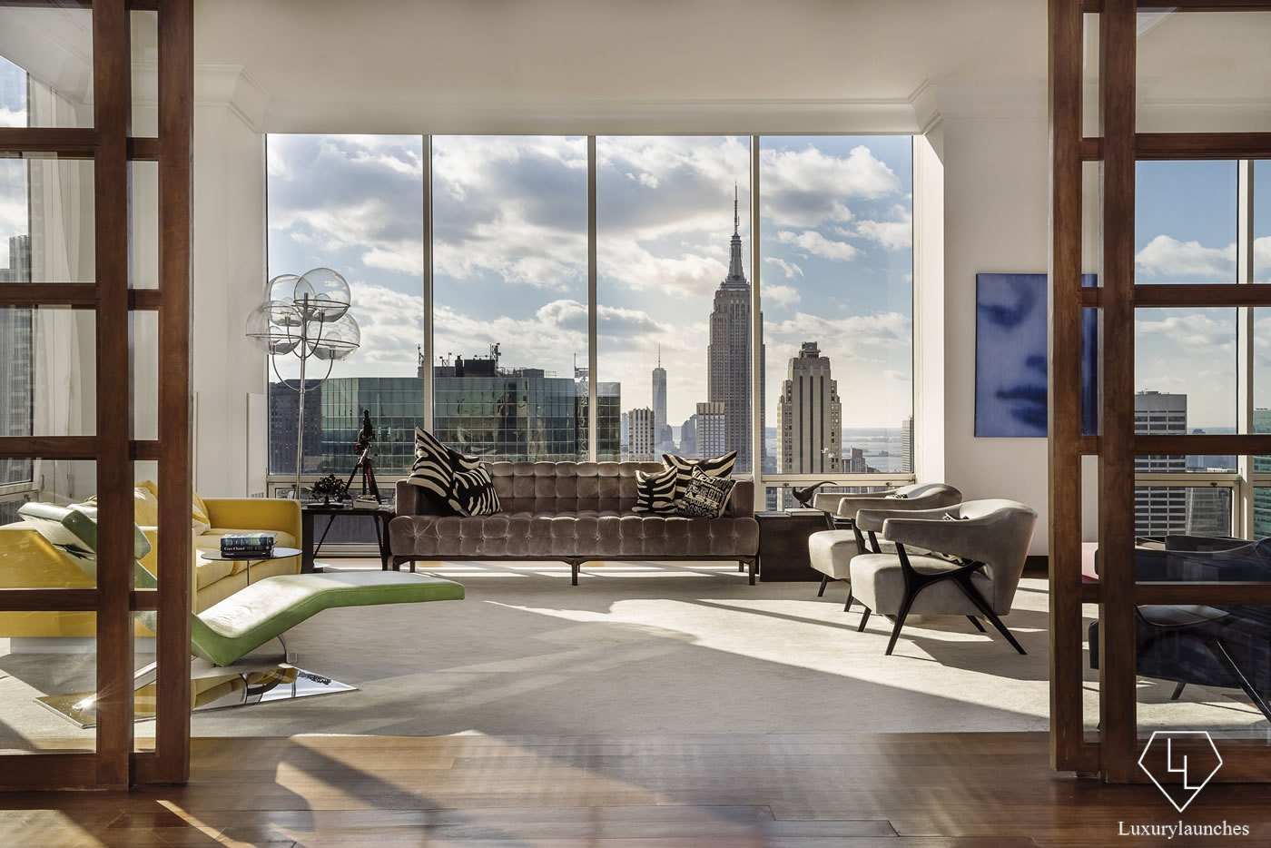 Gucci 39 s 38 million penthouse in manhattan is up for sale for Penthouses for sale in manhattan