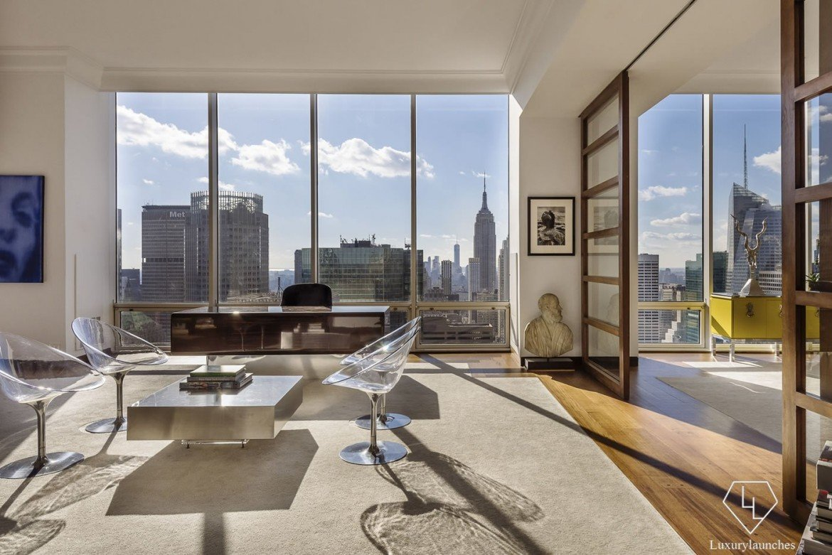 Gucci 39 s 38 million penthouse in manhattan is up for sale for Luxury penthouses in manhattan