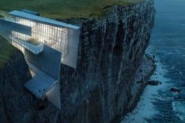 Icelandic Cliffside retreat (1)