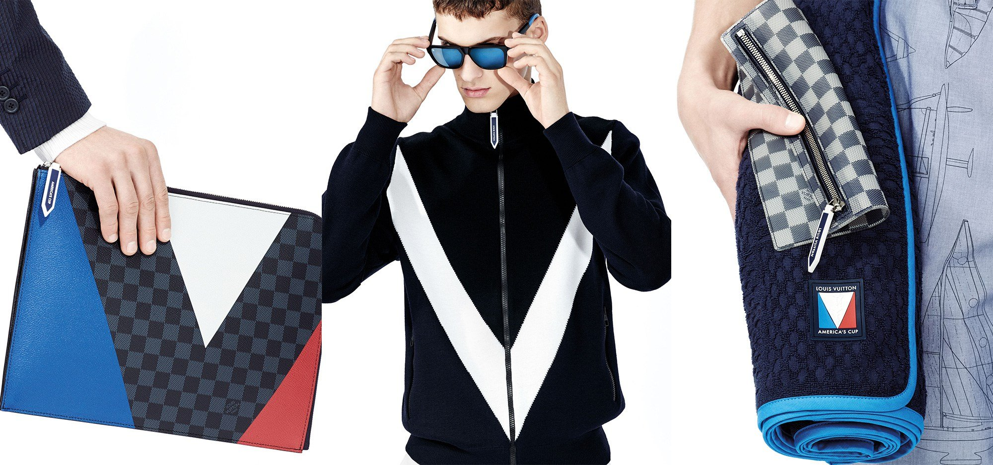 ce43b58037d5 Louis Vuitton debuts America s Cup inspired menswear collection -