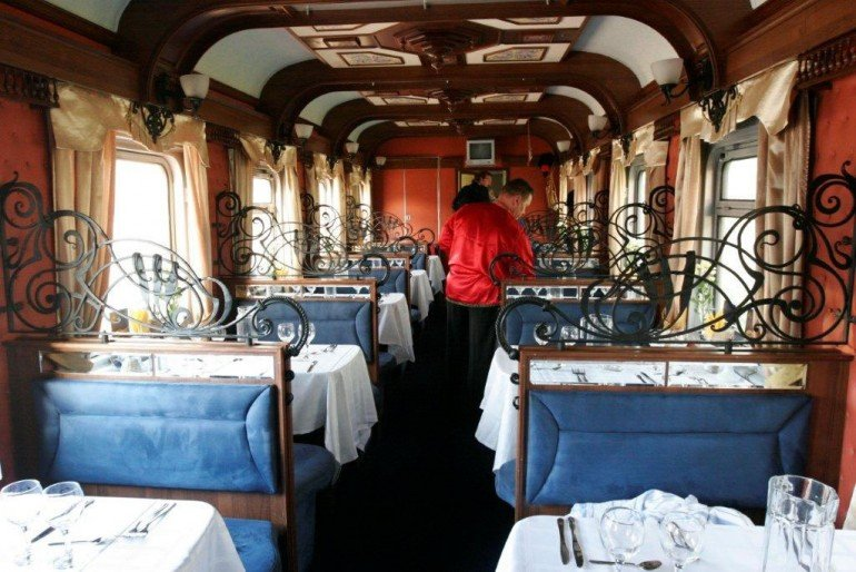 Orient Silk Road Express Train _Interior