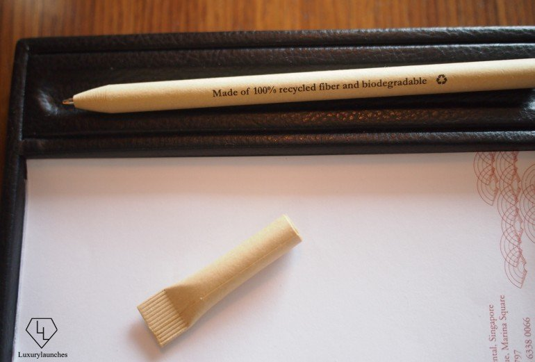 100% Recycled and biodegradable pen