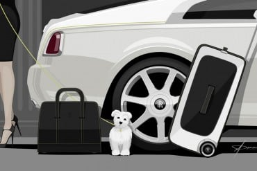 Rolls Royce Wraith luggage-collection