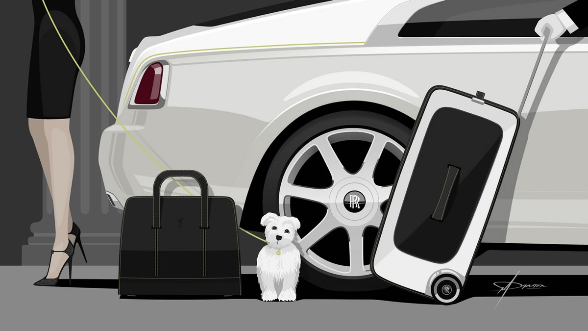 Rolls Royce Wraith luggage collection costs more than a BMW 4 series car : Luxurylaunches