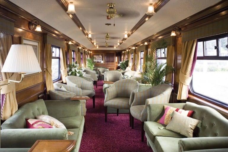 Royal Scotsman, lounge car