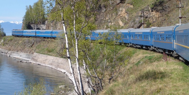 Russia; Siberia; The Golden Eagle Train