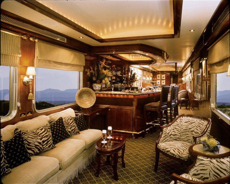 South Africa; Blue Train - Lounge Car