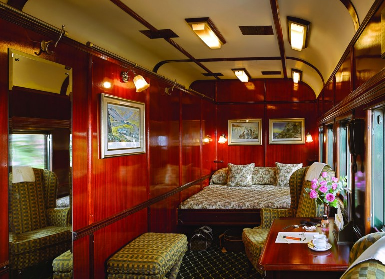 South Africa; Rovos Rail Luxury Train; Royal Suite